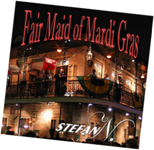 CD Cover Fair Maid of Mardi Grass