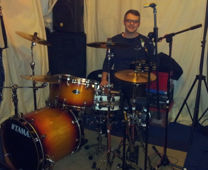 Mark's neues Schlagzeug