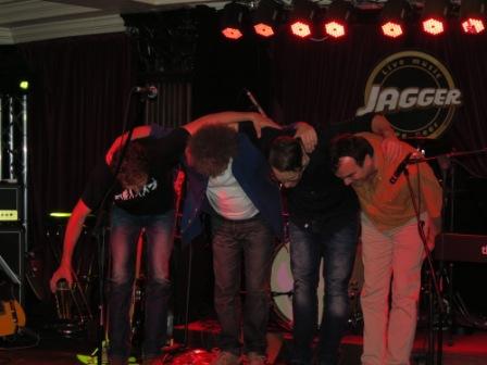Stefan N & Band im Jagger Berlin - Danke - 3163